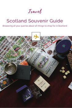 What to buy in Scotland - A comprehensive guide to picking up gifts from Scotland. Scotland Travel, Ireland Travel, Heather Plant, Scottish Music, Corner Table, Things To Buy, Stuff To Buy