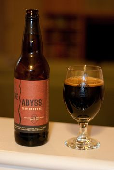 Deschutes The Abyss arrives every November and sells out within days Malted Barley, Beers Of The World, Craft Beer, Beer Bottle, Alcoholic Drinks, Beverages, Grains, Liquor, Brewing