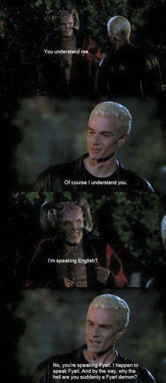 Spike speaks Fyarlese/Fyarlean, whatever...