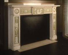 Liverpool museum, Wedgwood mantle.