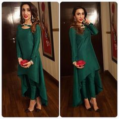 """Annie keeps it chic n simple for the Filmfare awards Pakistani Dresses Party, Latest Pakistani Dresses, Pakistani Fashion Party Wear, Shadi Dresses, Indian Gowns Dresses, Pakistani Dress Design, Party Wear Dresses, Pakistani Outfits, Indian Fashion"