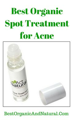 Best Organic Supplement for Acne. Acne Spot Treatment by Act Natural. *Special Formula Penetrates Pores for Acne-Free Skin Fast *NO Harsh Chemicals, Fragrances, or Parabens *Fights Acne-Causing...continue reading by clicking here --> http://bestorganicandnatural.com/spot-treatment-acne/