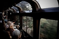 giveitawhirl:  Why don't the seats in the trains near me face the windows!?!?! I've always strained my neck looking to the side during my ri...