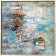Calm Sea Art Print by Silvia Vassileva at Art.com