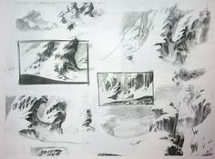 Concept Art from disney's MULAN, created by three master    And this is from MARCELO VIGNALI