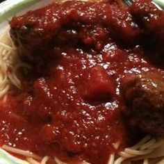 """Quick Spaghetti Sauce   """"Very easy to make with ingredients I usually have on hand. AND my husband said he loved it!"""""""