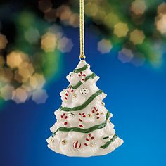 Candy Cane Tree Ornament by Lenox