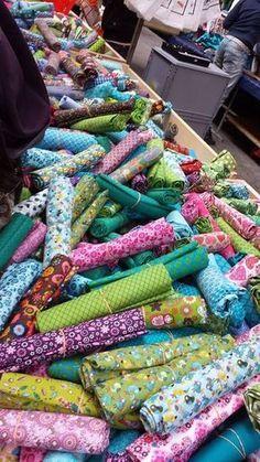 Super conseils pour savoir où acheter des tissus en France, à Paris et sur le net! Utile!