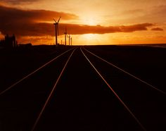 Sunset Tracks by Marcus Doyle