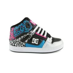Shop for YouthTween DC Rebound Skate Shoe in Black Multi at Journeys Kidz. Shop today for the hottest brands in mens shoes and womens shoes at JourneysKidz.com.Mid-top skate shoe from DC, the Rebound Hi features a leopard print patent upper with a perforated toe panel, padded collar, elastic tongue-centering straps, and a DGT rubber sole. Exclusively available at Journeys Kidz!