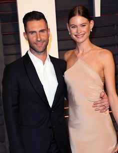 Welcome to Koko level's Blog | Koko level's: Pop artist, Adam Levine and his Namibian Model wif...
