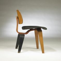 Charles and Ray Eames, Three-Tone DCW Chair for Herman Miller, 1949.