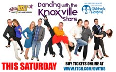 March 22, 2014: Dancing with the Knoxville Stars to benefit East Tennessee Children's Hospital is coming up and tickets are almost sold out! Don't miss out: buy your tickets online today at: http://tickets.etch.com/ and join us for a night of food and dancing at the Knoxville Expo Center this Saturday night.