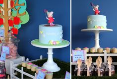 Lovely Peppa Pig Cake and Decoration #peppapig