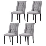 Home Parsons Dining Chairs Fabric Dining Chairs Upholstered
