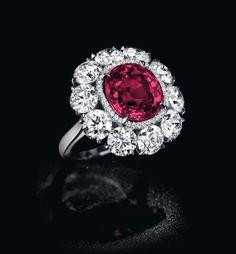 The Pride of Burma ruby and diamond ring