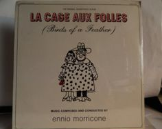 """CAGE AUX FOLLES (aka Birds Of A Feather; 1979, Ennio Morricone) Rare Mint 12"""" Vinyl Lp Soundtrack! Great Early Gay Film Comedy; Great Cover - Edit Listing - Etsy"""
