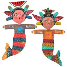Mexican mermaid art