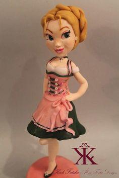 German sugar doll by Fatiha Kadi