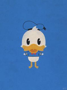 Little Donald Duck, Deviantart.