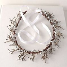 Silver Twig Berry Flower Crown Winter Wedding Headpiece Bridal Head Wreath Rustic Forest Headband Ice Queen Tiara Costume Headdress