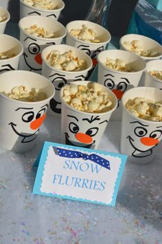 frozen birthday party ideas Heres how to make the ultimate Frozen themed birthday party. From Frozen themed party snacks to Elsa and Olaf goodie bags, to Frozen party games. You can throw this Disney party ideas with lots of things from the dollar store! Frozen Birthday Party Games, Olaf Birthday, Frozen Themed Birthday Party, Disney Frozen Birthday, Birthday Party Themes, Frozen Party Food, Disney Themed Party, Disney Party Games, Frozen Birthday Decorations