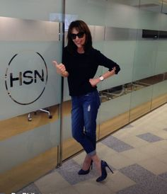 Robin McGraw- looking great before presenting Robin McGraw Revelation on HSN.