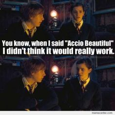 Harry Potter pick up line. smooth ;)