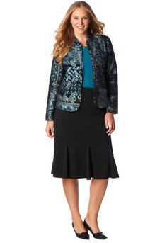 Teal Tapestry Outfit - Christopher & Banks