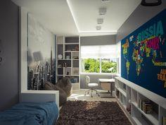 Спальня мальчика в Симферополе. Детская