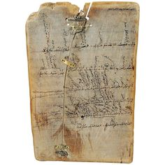 North Africa | Morocco | Antique Quranic Teaching Tablet