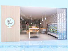 IS DESIGN SOLUTION: Little Green Planet Organic Shop