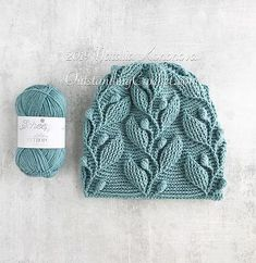 Climbing Vine Hat Crochet Pattern with graph, video and written instructions. Double Crochet, Crochet Baby, Free Crochet, Knit Crochet, Crochet Beanie Hat, Knitted Hats, Crochet Hoodie, Slouchy Beanie, Knitting Projects