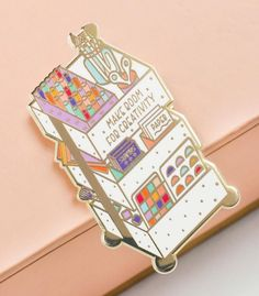 Express Yourself! Lute Lapel Pin