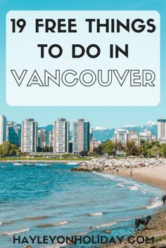Read our insider guide for the best free things to do in Vancouver, Canada. From hikes to festivals to the best views, these are best free and cheap things on offer in Vancouver. things to do in Vancouver New Travel, Cheap Travel, Canada Travel, Solo Travel, Budget Travel, Travel Usa, Travel Tips, Canada Canada, Travel Ideas