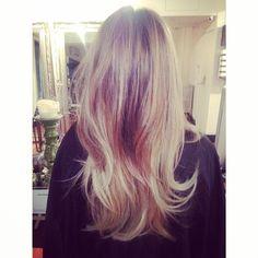 Beautiful, dimensional #AvedaBlonde by Juliana Marcs Hair.