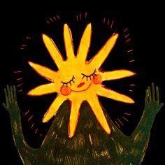 bc i'll give u the sun Pretty Art, Cute Art, Arte Sketchbook, Hippie Art, Wow Art, Art Hoe, Oui Oui, Aesthetic Art, Les Oeuvres