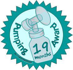 Pumping Award: 19 Months