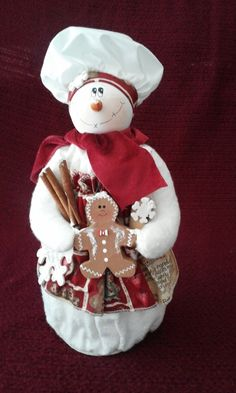 Gingerbread Baker LIKE THE GINGER SHE IS HOLDING