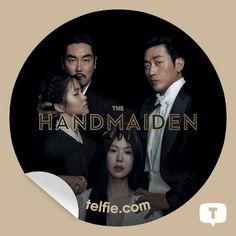 "New Telfie App Sticker ""The Handmaiden"" from Magnolia Pictures"