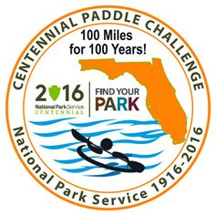Paddle challenge for the 11 National Parks in Florida