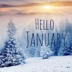 Hello #january ❄️