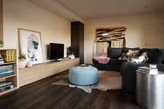 polytec RAVINE Natural Oak Entertainment Ideas, Joinery, Lounge, Couch, Entertaining, Natural, Room, Furniture, Home Decor