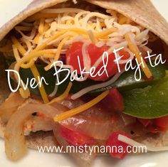 Fit for Life: OVEN BAKED FAJITAS  This recipe was a WINNER!!  It literally took me LESS than 10 minutes to prepare!! My family and I love MEXICAN FOOD, so this was the perfect clean eating recipe!!  21 Day Fix Approved!!