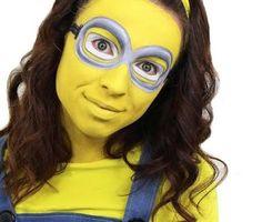 minion face paint - Google Search