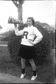 Vintage 1950s Cheerleader