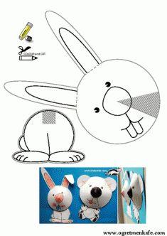Tavşan kes yapıştır
