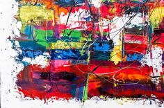DETAILS FROM MY PAINTINGS  Vibrant Moor I  My website:   #art #paintings #artbylonfeldt