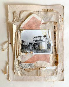 Day 17 'HOME' #februllage . . . @edinburghcollagecollective . @scandinavian_collage_museum