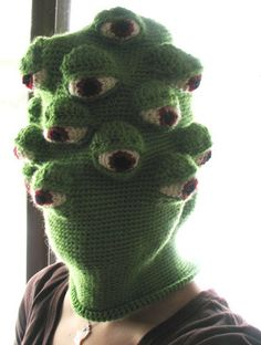 crochet mask by octopus_mountain, via Flickr